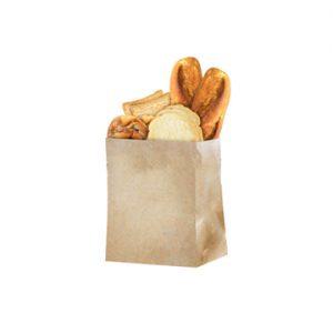 paper bag bread